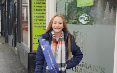 UK's National Junior Miss Derbyshire, Harleigh-Jai, has been spreading some sparkle in her community over Christmas!
