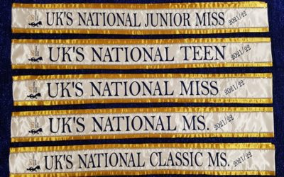 Our new winners of UK's National Miss has an amazing prize package with lots of amazing new sponsors for 2021!